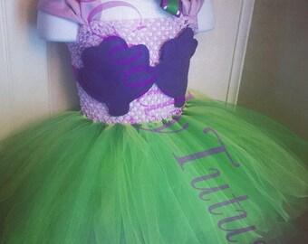 Ariel Inspired Tutu Dress