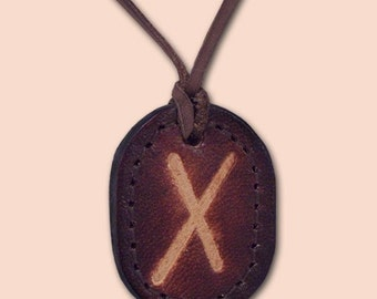 Rune Amulet Necklace - Gebo