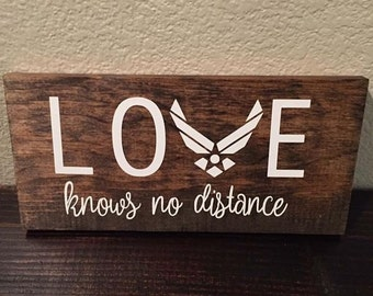 Air Force Deployment Sign - FREE SHIPPING!