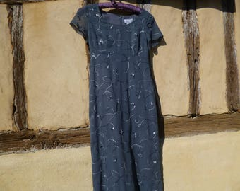 French  Paris Designer Dress. Caroll.  Size 8 UK    36 Fr    USA 4