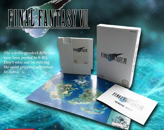 Final Fantasy Vii 7 NES Nintendo
