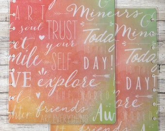 Trust Yourself Classic Happy Planner Cover
