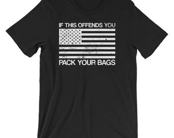 American Flag If This Offends You Patriotic T-Shirt