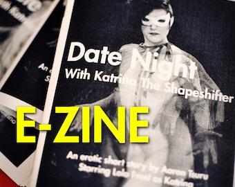 E-ZINE - Date Night With Katrina The Shapeshifter: An erotic sci-fi short story nudiezine by Aaron Tsuru - MATURE