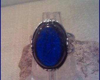 Canadian Labradorite  Ring Sterling SilverRL005