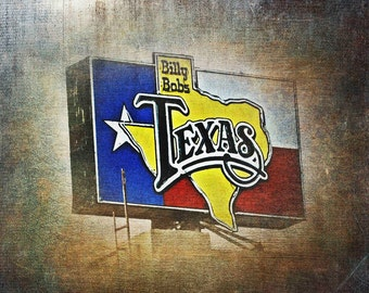 """Ft. Worth, Texas - """"Ft. Worth Billy Bobs""""-(image is horizontal)"""