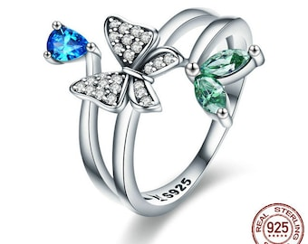 Butterfly of Spring Ring