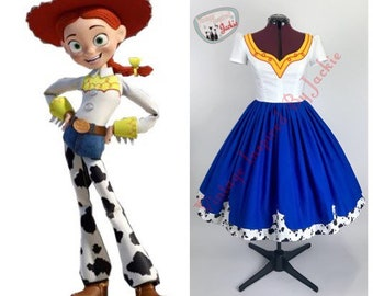 Toy Story Jessie Disney Bound Inspired Dress