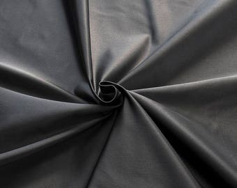 876201-Satin Natural silk 100%, width 135/140 cm, made in Italy, dry cleaning, weight 190 gr