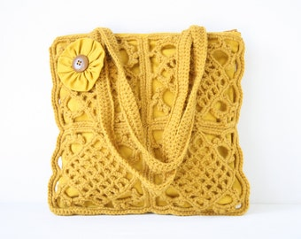 Crochet shoulderbag Olivia