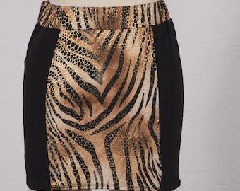 Summer Wear Patterned Skirt