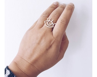 The 'Now You See Me' Adjustable Ring