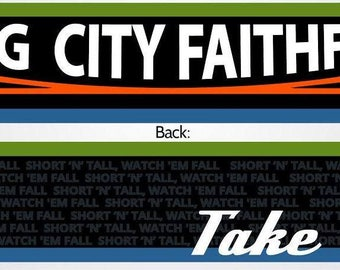 Fog City Faithful lightweight Summer Scarf