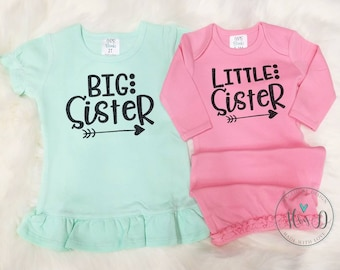 Big sister little sister outfit | sibling sets | Big sister little sister | Big sister little sister shirts