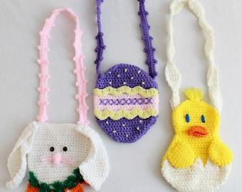 Easter Purse Set Crochet Pattern PDF-PA798
