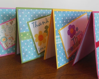 Handmade Thank you Cards / Thank You Cards / Thank You / Greeting Cards