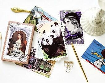 Postcard Set - Stamp Worldwide - 30 Sheets