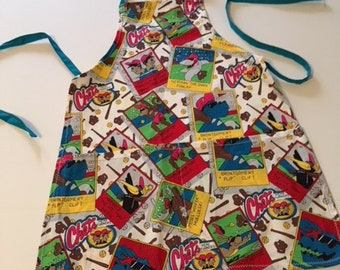 Chets Head Turner themed child's chef apron