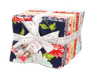 The Good life cotton Fat quarter bundle by Bonnie and Camille for Moda fabrics