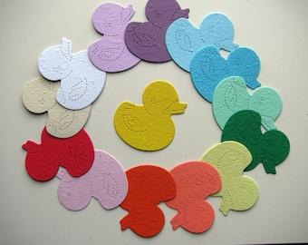 25 Seed Paper Duckies
