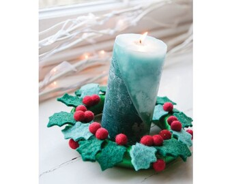Christmas Candle Ring Sewing Pattern Download 803402