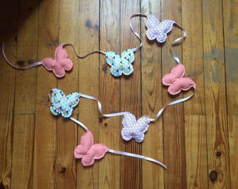 Deco Butterfly Garland