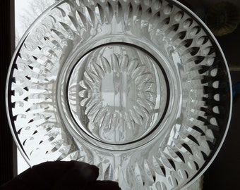 "Rare HAWKES Sierra #7240 Pattern - Set of Four - 8.25"" Unsigned Lunch, Salad or Dessert PLATES"