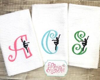Dance Towels, Dancer Towels, Sports Towels, Custom Dance Towels