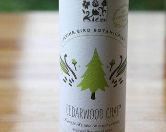0419 Cedarwood chai, organic loose leaf tea