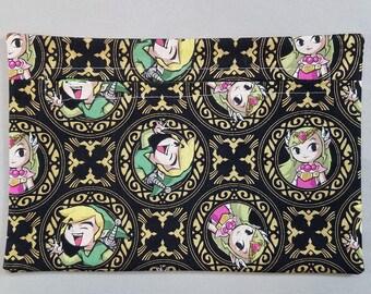 Link & Zelda Zipper Pouch