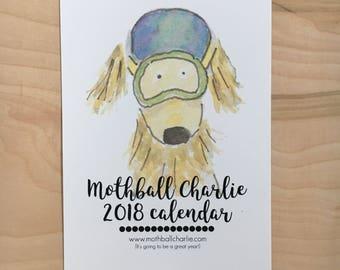 2018 Watercolor Wall Calendar - 5 x 7