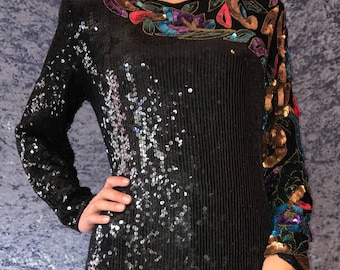 Showstopper Sequins Mini Dress