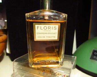 Vintage Floris Edwardian Bouquet eau de toilette
