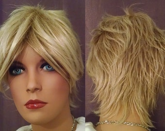 Final Fantasy X Tidus Cosplay Wig