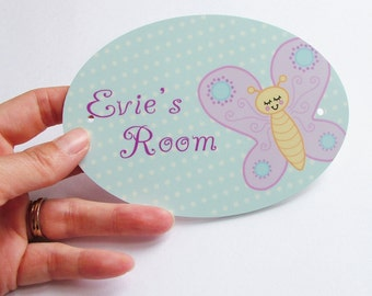 Children's Room Sign - Personalised Sign - Childs Sign - Room Name