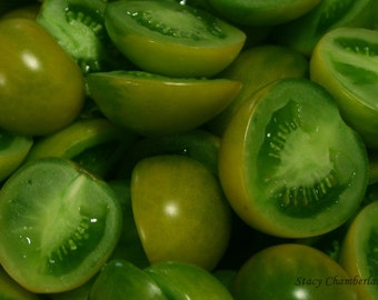 Luscious Green Grape Heirloom Tomato Doctors Frosted Cherry Tomato Seeds Grown To Organic Standards BEST Tasting