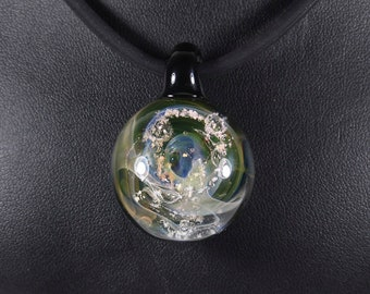 Cosmo Glassworks Tranquility Cremation Ash Memorial Pendant
