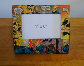 Ghost Rider Picture Frame / Comic Book Frame