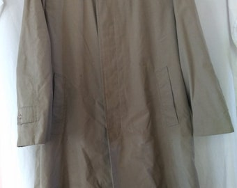 Vintage Men's Trench Coat