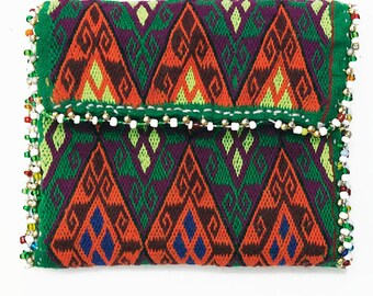 Afghanistan: Vintage Embroidered Hazara Wallet or Pouch, Item 5