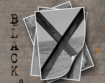 LETTER X Alphabet Photography LETTERS - Black and White Alphabet Photos