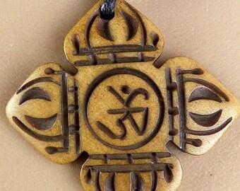 PENDANT Tibetan DORJE vajra, zen Buddhism meditation nepal tibet WN41 crafts