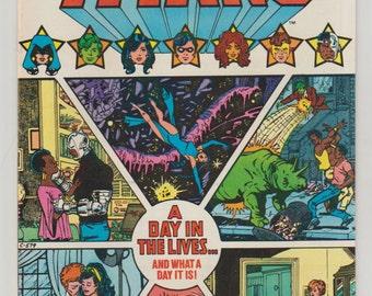 New Teen Titans; Vol 1, 8 Bronze Age Comic Book.  NM (9.4). June 1981.  DC Comics