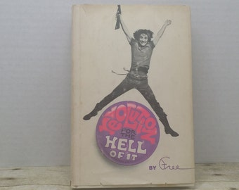 Revolution for the Hell of it, 1968, First edition, by Free, Vintage book