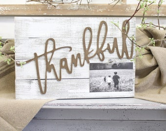 Thankful Photo Pallet