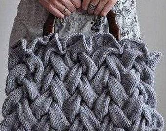 Handmade knitted handbags woman handbags with tassels and genuine leather handles crochet bag tote bag boho style bag summer bag casual bag