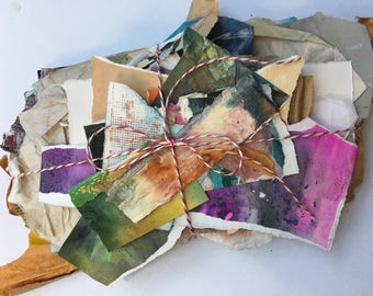 Artist Scrap Paper for Collage Mixed Media