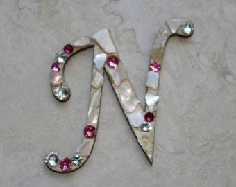 Swarovski Crystal Embellished Letters