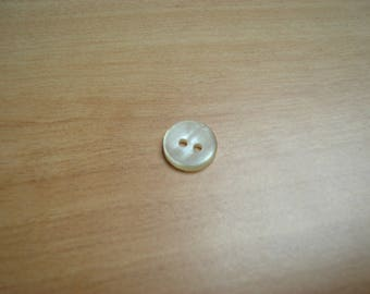 buttons plastic round off white reflection
