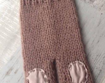 ON SALE Newborn knit pants, Baby Boys pants, Patches pants, Photo prop, Patches, Newborn pants, RTS